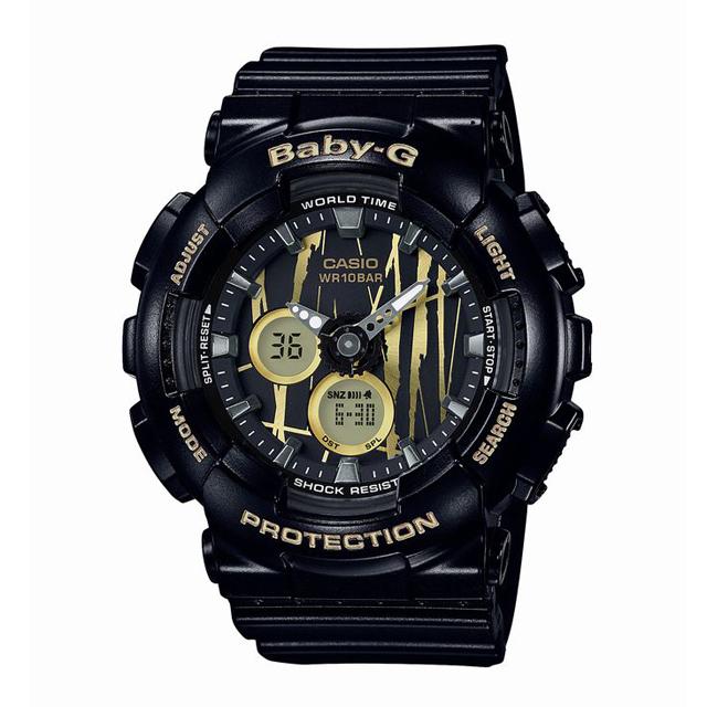 Baby-G ベビージー ベビーG CASIO カシオ レディース 腕時計 BA-120SP-1AJF [10気圧防水/アナログ/国内正規販売店/Authorized Dealer]