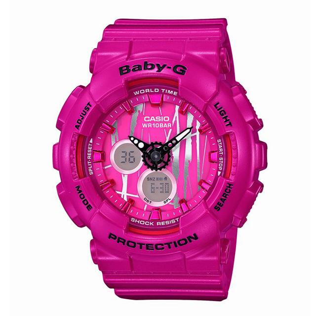 Baby-G ベビージー ベビーG CASIO カシオ レディース 腕時計 BA-120SP-4AJF [10気圧防水/アナログ/国内正規販売店/Authorized Dealer]