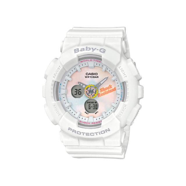 Baby-G ベビージー CASIO カシオ レディース 腕時計 Summer Gradation Dial BA-120T-7AJF [BABY-G/ベビージー/腕時計/防水]
