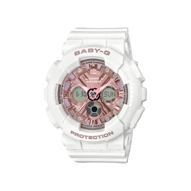 Baby-G ベビージー CASIO カシオ レディース 腕時計 Metalic face BA-130-7A1JF [BABY-G/ベビージー/腕時計/防水]