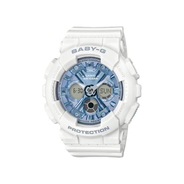Baby-G ベビージー CASIO カシオ レディース 腕時計 Metalic face BA-130-7A2JF [BABY-G/ベビージー/腕時計/防水]
