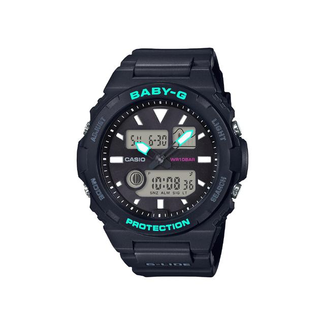 Baby-G ベビージー CASIO カシオ レディース 腕時計 G-LIDE BAX-100-1AJF [BABY-G/ベビージー/G-LIDE/サーフィン]