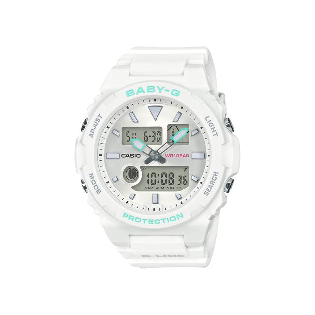 Baby-G ベビージー CASIO カシオ レディース 腕時計 G-LIDE BAX-100-7AJF [BABY-G/ベビージー/G-LIDE/サーフィン]