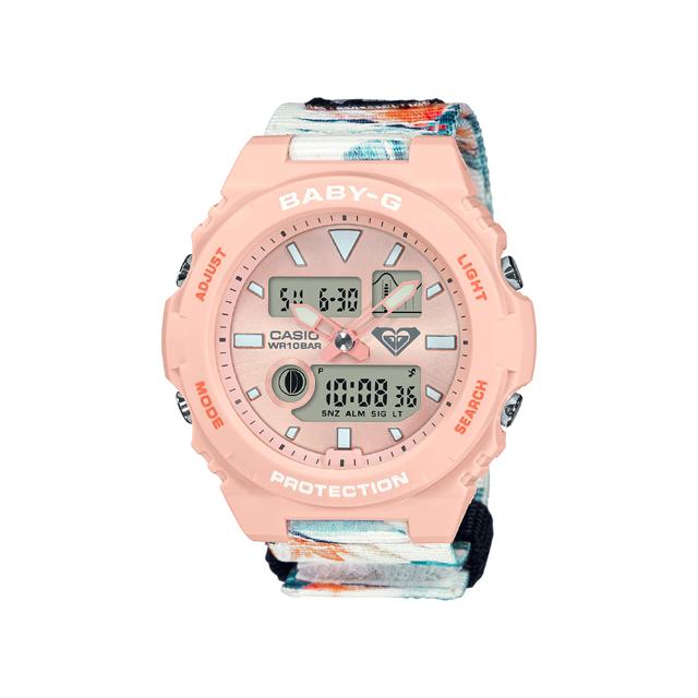 Baby-G ベビージー CASIO カシオ レディース 腕時計 ROXY コラボレーションモデル BAX-100RX-4AJR [BABY-G/ベビージー/ROXY/限定]