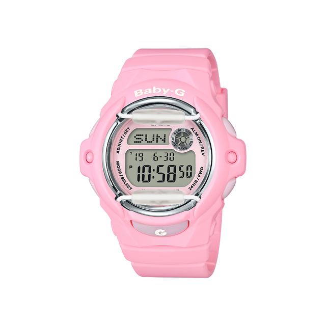 Baby-G ベビージー CASIO カシオ レディース 腕時計 Blooming Pastel Colors ブルーミング パステル カラーズ BG-169R-4CJF [BABYG/ベビージー/腕時計/防水]
