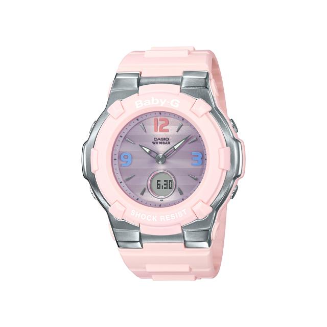 Baby-G ベビージー CASIO カシオ レディース 腕時計 Retro tricolor BGA-1100TR-4BJF [BABY-G/ベビージー/腕時計/電波ソーラー]