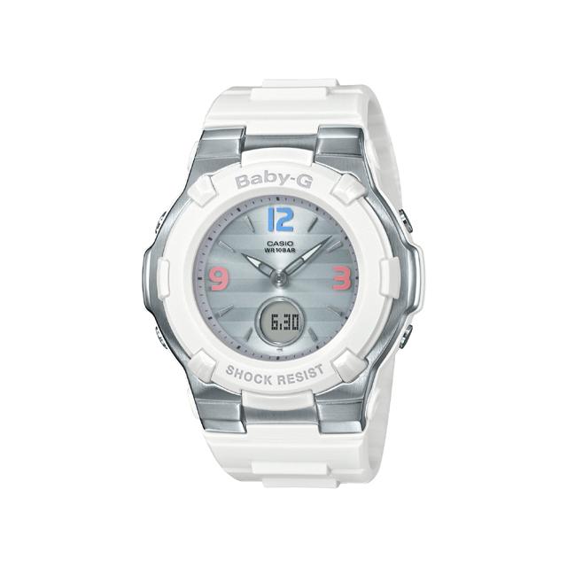 Baby-G ベビージー CASIO カシオ レディース 腕時計 Retro tricolor BGA-1100TR-7BJF [BABY-G/ベビージー/腕時計/電波ソーラー]