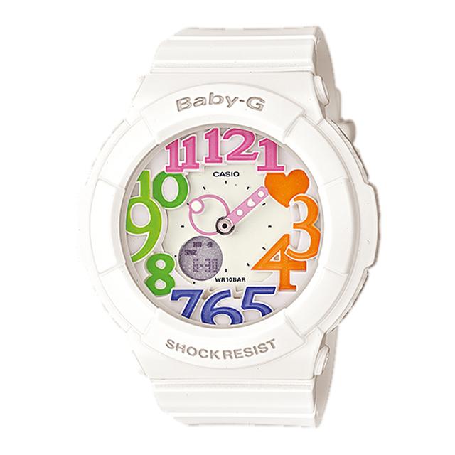 Baby-G ベビージー ベビーG CASIO カシオ レディース 腕時計 Neon Dial Series ネオンダイアルシリーズ BGA-131-7B3JF [国内正規販売店]
