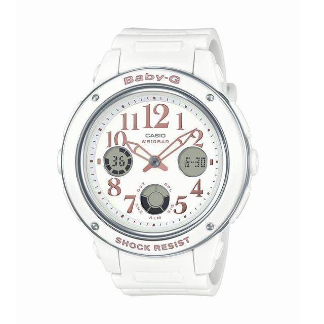 Baby-G ベビージー ベビーG CASIO カシオ レディース 腕時計 BGA-150EF-7BJF [ホワイト/アナログ/10気圧防水/耐衝撃/国内正規販売店/Authorized Dealer]