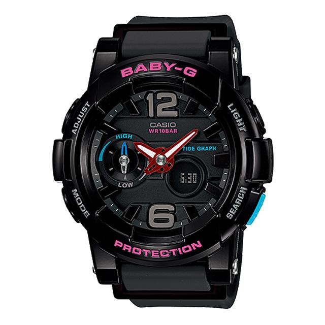 Baby-G ベビージー ベビーG CASIO カシオ レディース 腕時計 G-LIDE Gライド BGA-180-1BJF [国内正規販売店]