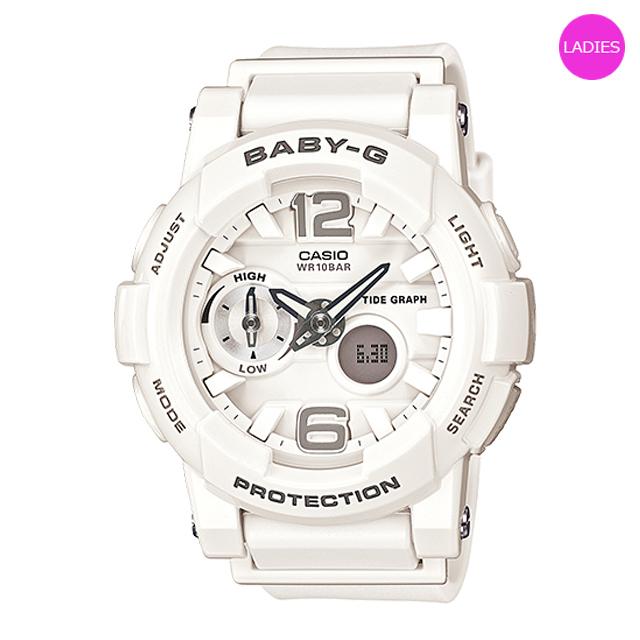 Baby-G ベビージー ベビーG CASIO カシオ レディース 腕時計 G-LIDE Gライド BGA-180-7B1JF [国内正規販売店]