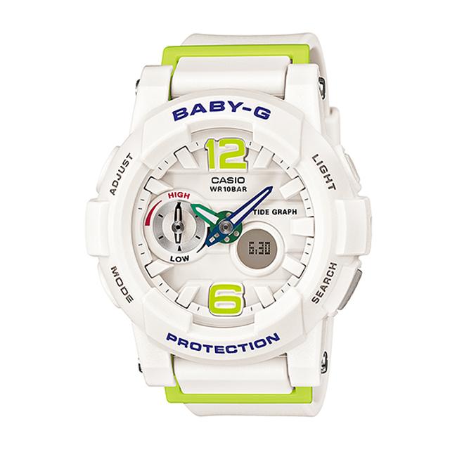 Baby-G ベビージー ベビーG CASIO カシオ レディース 腕時計 G-LIDE Gライド BGA-180-7B2JF [国内正規販売店]