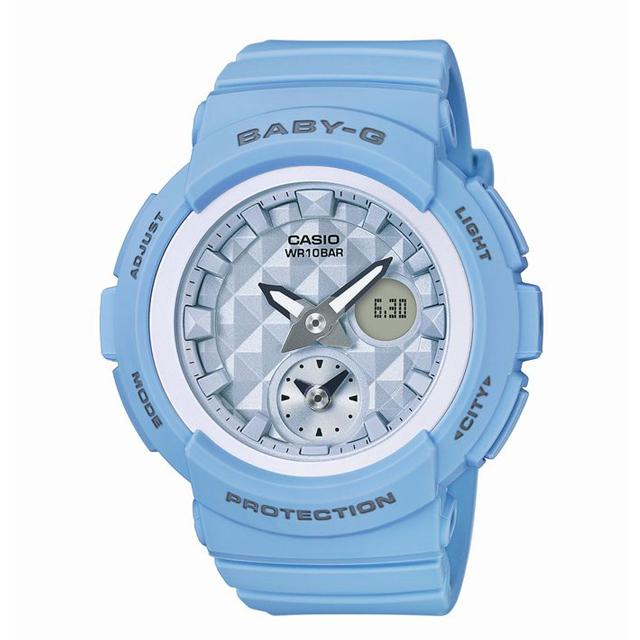 Baby-G ベビージー CASIO カシオ レディース 腕時計 Beach Colors(ビーチ・カラーズ) BGA-190BE-2AJF [10気圧防水/パステルカラー/メンズライク]
