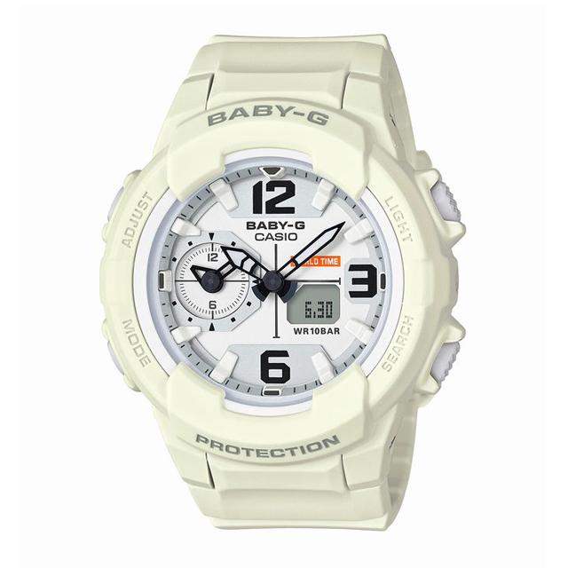 Baby-G ベビージー ベビーG CASIO カシオ レディース 腕時計 BGA-230-7B2JF [10気圧防水/ワールドタイム/アナログ/国内正規販売店/Authorized Dealer]