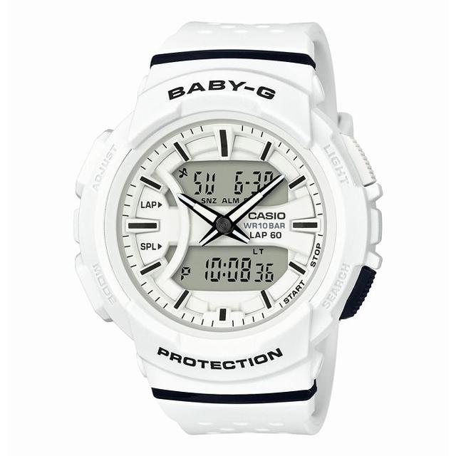 Baby-G ベビージー CASIO カシオ レディース 腕時計 for running フォーランニング BGA-240-7AJF [10気圧防水/アナログ/ランニング/スポーツ]