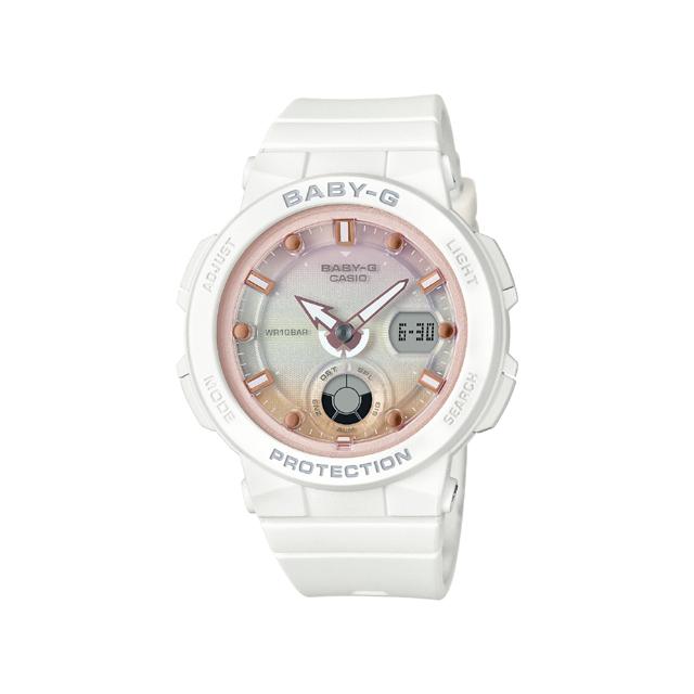 Baby-G ベビージー CASIO カシオ レディース 腕時計 Beach Traveler Series BGA-250-7A2JF [BABY-G/ベビージー/防水/腕時計]