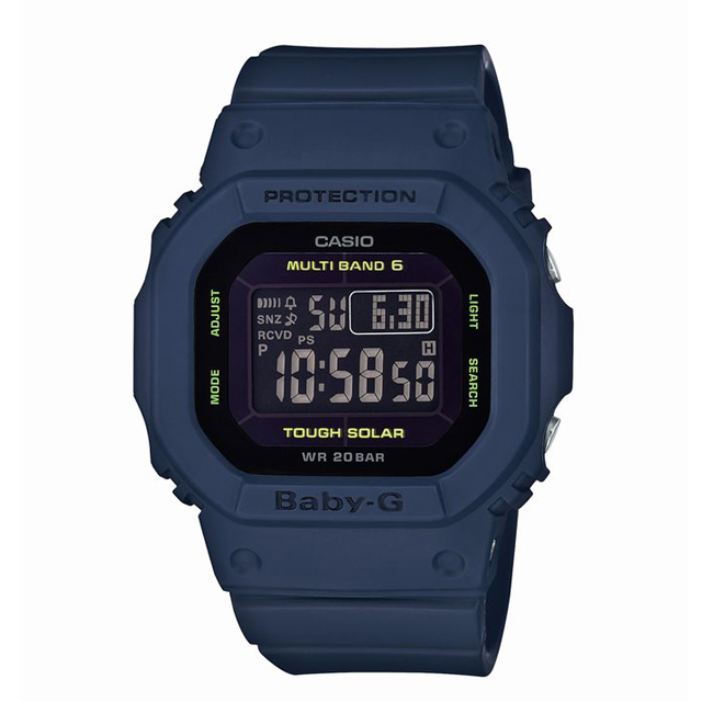 Baby-G ベビージー CASIO カシオ レディース 腕時計 Clean Style BGD-5000-2JF [20気圧防水/デジタル]
