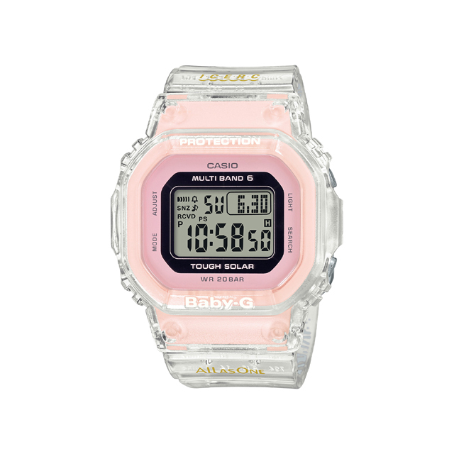 Baby-G ベビージー CASIO カシオ レディース 腕時計 Love The Sea And The Earth 25th ANNIVERSARY BGD-5001K-7JR [BABY-G/ベビージー/イルクジ]