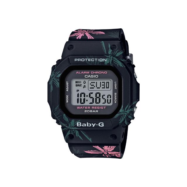 Baby-G ベビージー CASIO カシオ レディース 腕時計 SUMMER FLOWER PATTERN BGD-560CF-1JF [BABY-G/ベビージー/防水/腕時計/花柄]
