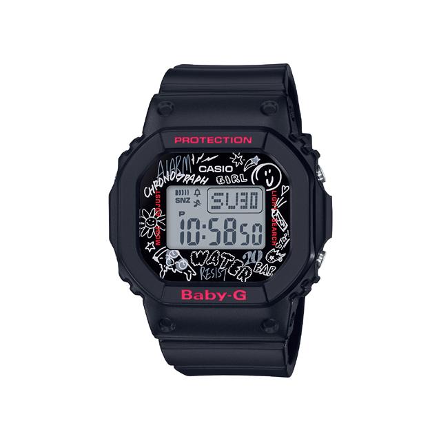 Baby-G ベビージー CASIO カシオ レディース 腕時計 Graffiti Face グラフィティ フェイス BGD-560SK-1JF [BABY-G/ベビージー/防水/腕時計]