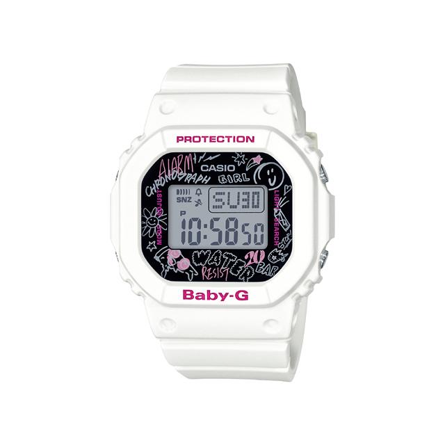 Baby-G ベビージー CASIO カシオ レディース 腕時計 Graffiti Face グラフィティ フェイス BGD-560SK-7JF [BABY-G/ベビージー/防水/腕時計]