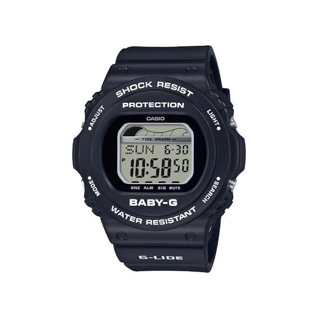 Baby-G ベビージー CASIO カシオ レディース 腕時計 90's Surf Camp BLX-570-1JF [BABY-G/ベビージー/腕時計/タイドグラフ/サーフィン]