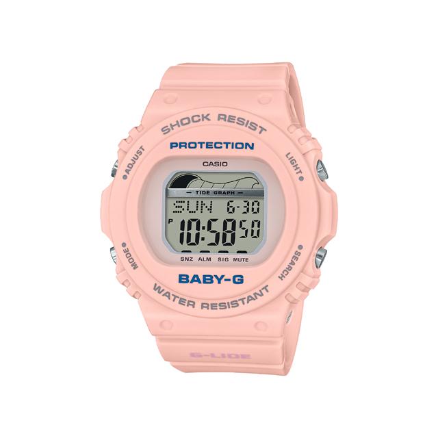 Baby-G ベビージー CASIO カシオ レディース 腕時計 2019SS 90's Surf Camp  BLX-570-4JF [BABY-G/ベビージー/腕時計/サーフィン/防水]