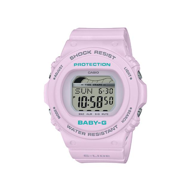 Baby-G ベビージー CASIO カシオ レディース 腕時計 2019SS 90's Surf Camp  BLX-570-6JF [BABY-G/ベビージー/腕時計/サーフィン/防水]