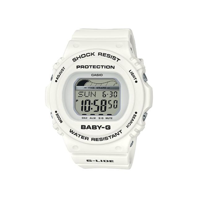 Baby-G ベビージー CASIO カシオ レディース 腕時計 90's Surf Camp BLX-570-7JF [BABY-G/ベビージー/腕時計/タイドグラフ/サーフィン]