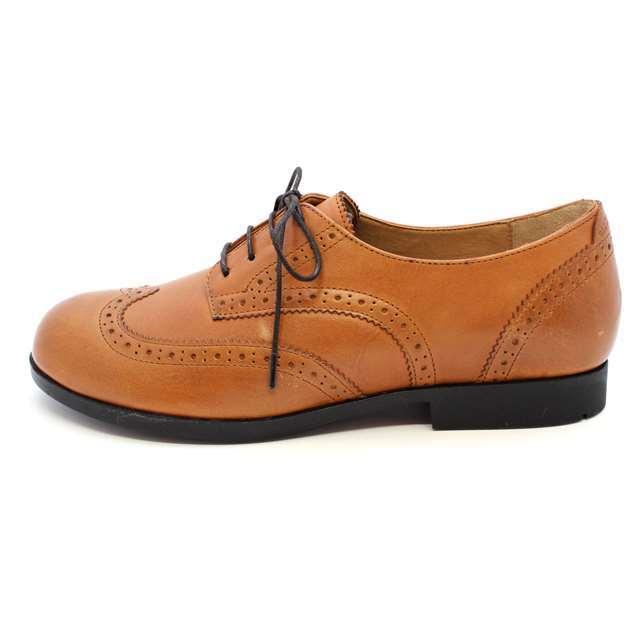 ビルケンシュトック レディース シューズ ウィングチップ 革靴 ララミーロー キャメル BIRKENSTOCK LARAMIE LOW CAMEL 本革 ナチュラルレザーGS1006910