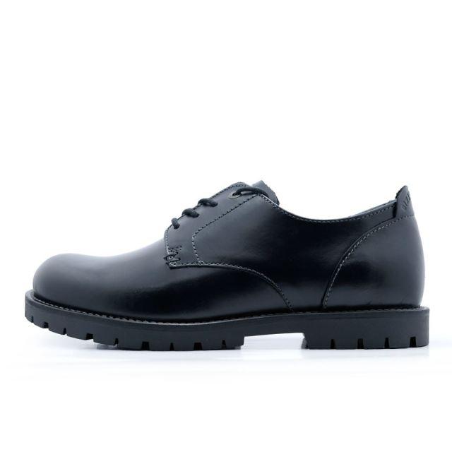 ビルケンシュトック ギルフォード ロー BIRKENSTOCK Gilford Low Black メンズ コンフォートシューズ 【革靴 天然皮革 レギュラー幅】  GS1006264