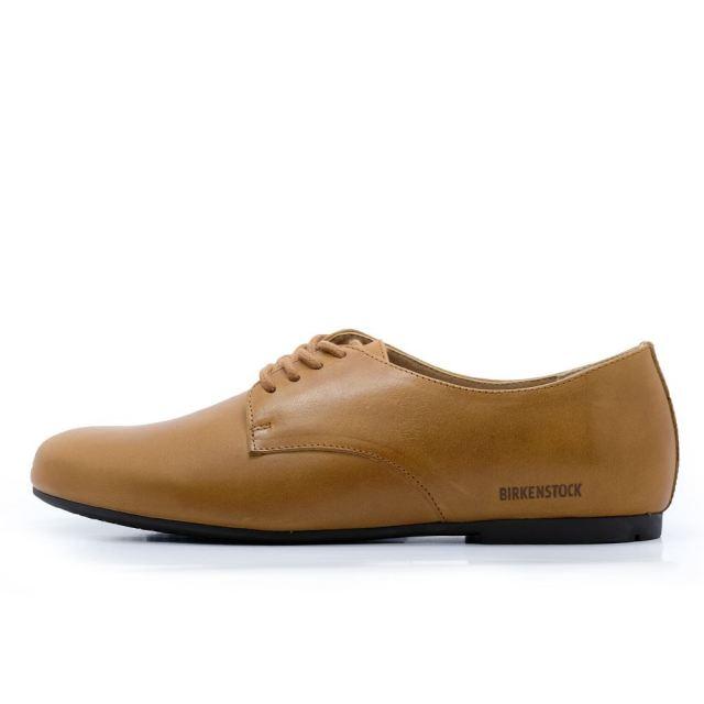 ビルケンシュトック ソーンダース BIRKENSTOCK Saunders Brown レディース コンフォートシューズ 【革靴 天然皮革 ナロー幅】  GS1013202