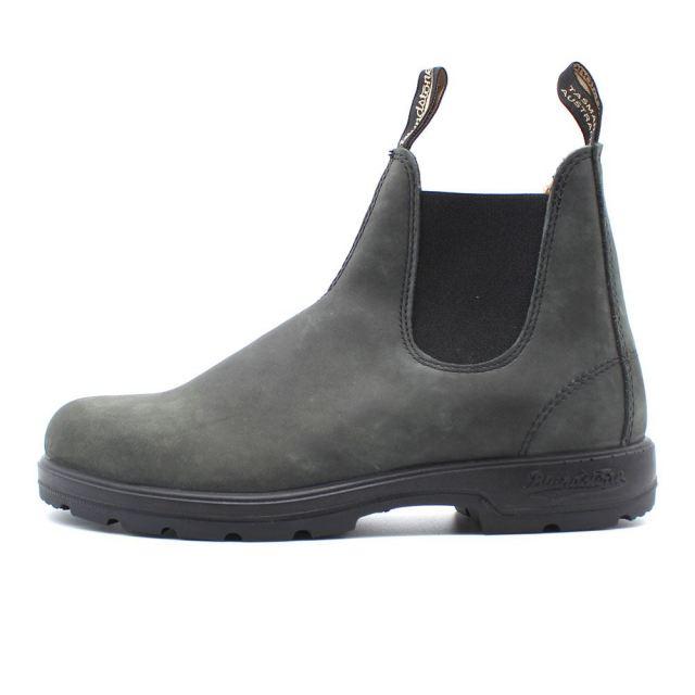 ブランドストーン Blundstone CLASSICS #587 ラスティックブラック メンズ ブーツ サイドゴアブーツ BS587056