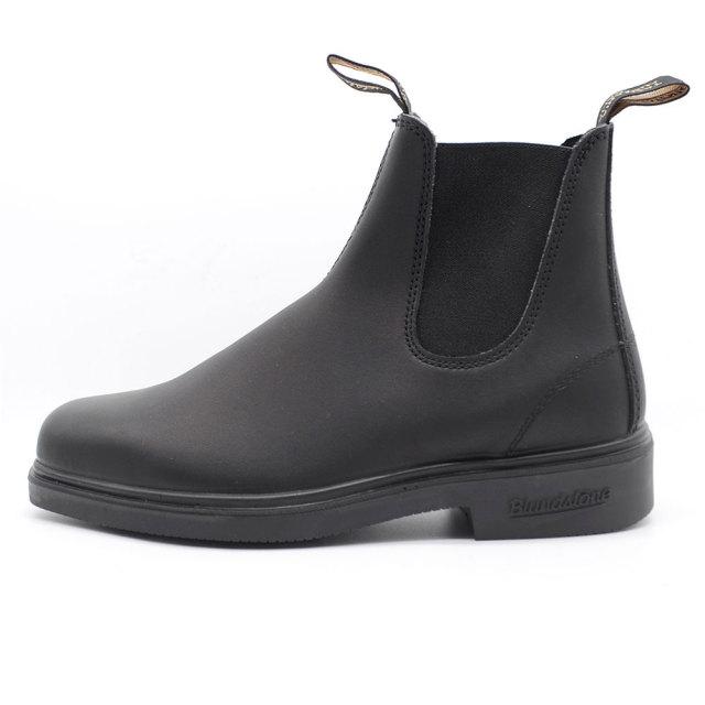 Blundstone ブランドストーン メンズ ブーツ VOLTAN BLACK ボルタンブラック BS063-089 [サイドゴア/レザー/ワークブーツ/スクエアトゥ/黒/ユニセックス/レインブーツ/国内正規販売店/Authorized Dealer]