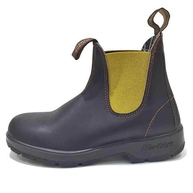 Blundstone ブランドストーン #1436 メンズ レディース ブーツ STOUT BROWN LEMON BS1436326