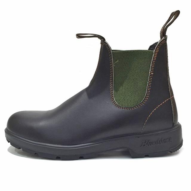 Blundstone ブランドストーン #519 CLASSICS メンズ レディース ブーツ STOUT BROWN DARK GREEN BS519-408