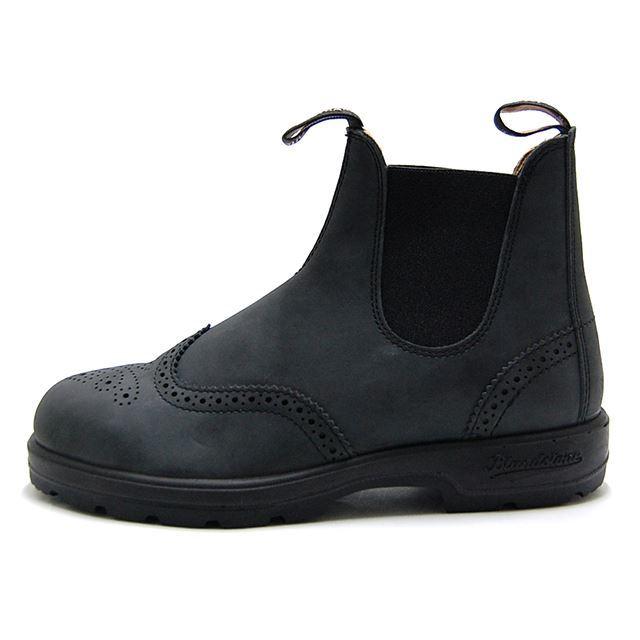 Blundstone ブランドストーン #1472 CLASSIC COMFORT メンズ レディース ブーツ ウイングチップ オイルレザー  Rustic Black BS1472-056