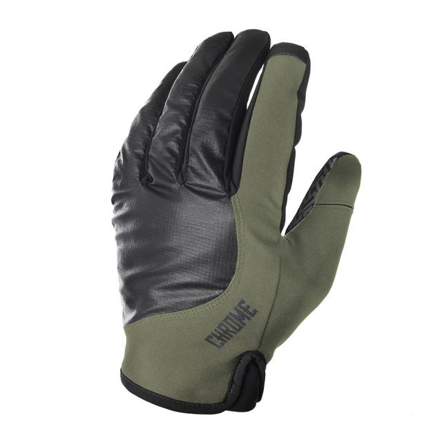 クローム ミッドナイト サイクル グローブ CHROME MIDWEIGHT CYCLE GLOVES OLIVE/BLACK メンズ 手袋 手袋 AC192OLBK
