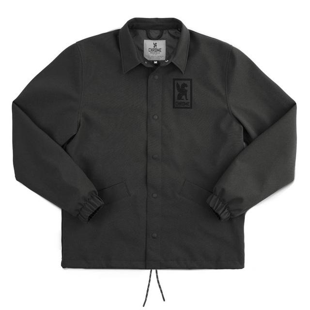 クローム マソニック コーチジャケット CHROME MASONIC COACHES JKT BLACK メンズ ジャケット AP463BK