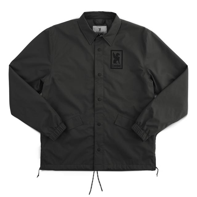 クローム CHROME CANDLESTICK COACHES JKT BLACK メンズ ジャケット コーチジャケット 防水 リフレクター AP464BK