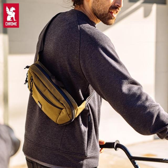 【クローム直営ショップ 】 クローム ジップトップ ウエストパック CHROME ZIPTOP WAISTPACK バッグ ボディバッグ 自転車 ピスト メッセンジャー SLING BAGS BG288