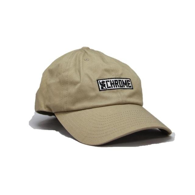 クローム ホライゾンタル シックス パネル キャップ CHROME HORIZONTAL 6P CAP BEIGE メンズ 帽子 JP159BG