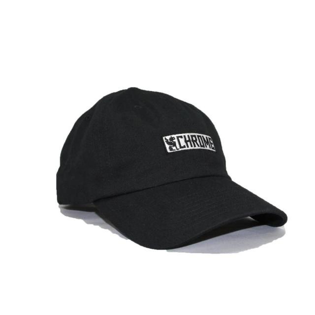 クローム ホライゾンタル シックス パネル キャップ CHROME HORIZONTAL 6P CAP BLACK メンズ 帽子 JP159BK