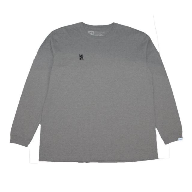 クローム シンボル ポイント R ロングスリーブ ティー CHROME SYMBOL POINT R L/S TEE GREY メンズ Tシャツ JP160GY