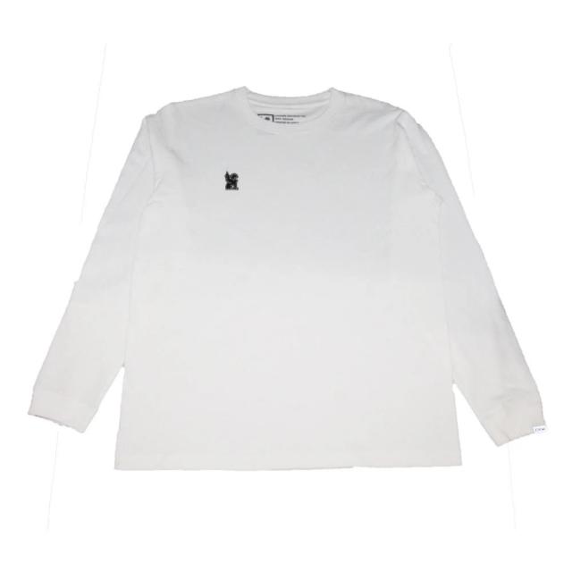 クローム シンボル ポイント R ロングスリーブ ティー CHROME SYMBOL POINT R L/S TEE WHITE メンズ Tシャツ JP160WT