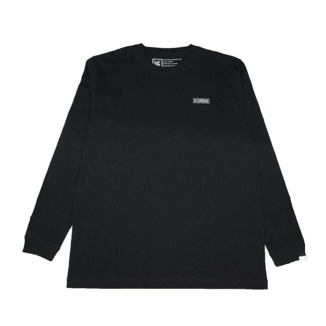クローム クラックス ボックス バックプリント ロングスリーブ ティー CHROME CRACKS BACK PRINT L/S TEE BLACK メンズ Tシャツ JP165BK