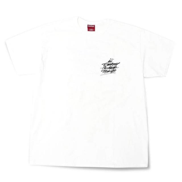 クローム ダスティチャンプ ポケットTシャツ CHROME DUSTYCHAMP POCKET TEE-1 WHITE メンズ Tシャツ CREDIT RACING HIDE AND SEEK JP175WT