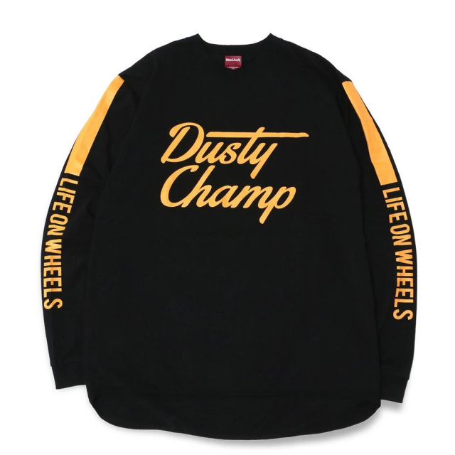 クローム ダスティチャンプ レーシングジャージ CHROME DUSTYCHAMP RACING JERSEY BLACK メンズ CREDIT RACING HIDE AND SEEK JP177BK