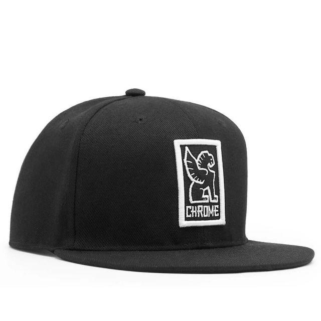 クローム キャップ ベースボールキャップ CHROME BASEBALL CAP BLACK/WHITE メンズ 帽子 自転車 ピスト メッセンジャー CLOTHING ACCESSORIES AC153BKWT