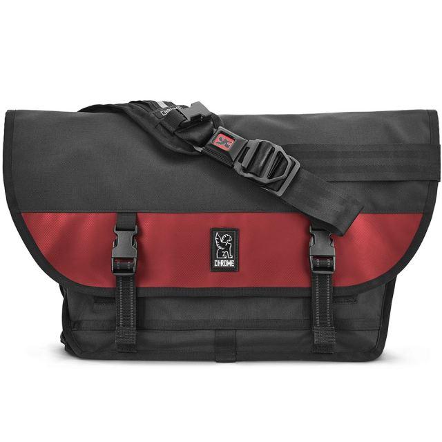クローム メッセンジャーバッグ シチズン CHROME CITIZEN MESSENGER BAG BLACK/RED 防水(WEATHER PROOF) 自転車 ピスト メッセンジャー MESSENGER BAGS BG002BKRDNA